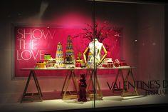 The Hudson Bay window displays, Valentine's Day 2012