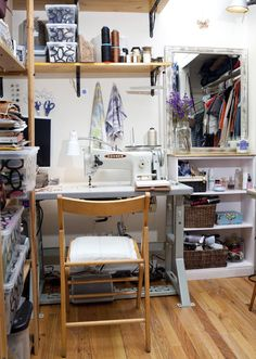 I would LOVE a craft room someday