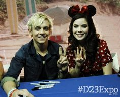 Ross with Grace Phipps  I love Ross he's so cute all the time me grace