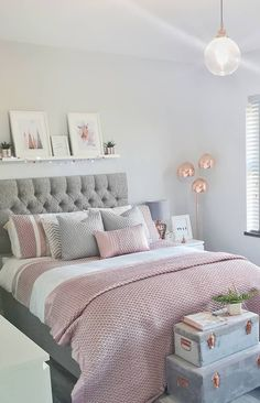 Modern Bedroom Design Trends and Ideas in 2019 Part bedroom ideas; bedroom ideas for small room; Room Design Bedroom, Girl Bedroom Designs, Room Ideas Bedroom, Home Decor Bedroom, Bedroom Inspo, Master Bedroom, Nursery Decor, Stylish Bedroom, Modern Bedroom