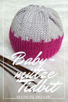 Babymütze Tidbit – Kostenlose Strickanleitung -  Stricken Anleitungen Baby