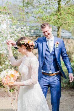 Berührende DIY Hochzeit in Apricot und Grün | Hochzeitsblog The Little Wedding Corner