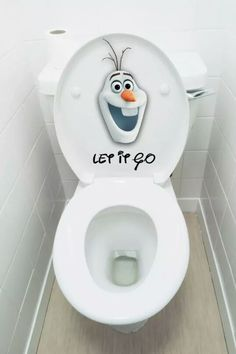 Let it go, let it go! Don't hold it back anymore.... haha