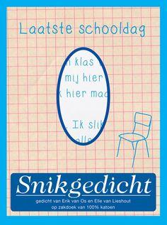 snikgedicht -laatste schooldag