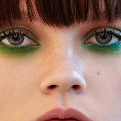Let's be green via @terrybarberonbeauty #beautyaddict #instabeauty #makeup #makeupaddict #mua #makeupartist #eyemakeup #eyes #greeneyeshadow #makeupinspo via TUSH MAGAZINE OFFICIAL INSTAGRAM - Celebrity Fashion Haute Couture Advertising Culture Beauty Editorial Photography Magazine Covers Supermodels Runway Models