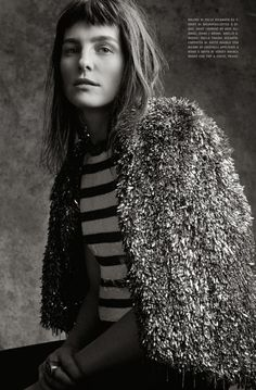 #TabithaSimmons by #CraigMcDean for #VogueItalia April 2014