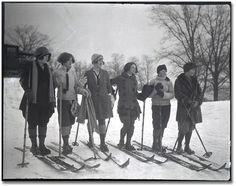 1920's ski-wear