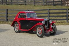1935 MG NB Magnette Airline Coupe by Allingham Retro Cars, Vintage Cars, Antique Cars, Vintage Avon, Classic Motors, Classic Cars, Mg Cars, British Sports Cars, Sport Cars
