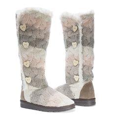 Muk Luks Women's Felicity /Faux-fur Boots