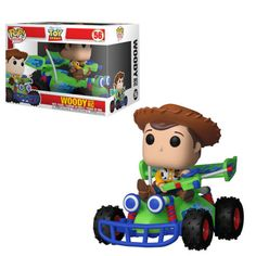 Ride: Toy Story - Woody with RC Car This Funko Pop is oversized with Woody riding the RC Car like the scene in Toy Story. This is a must for any Funko Pop collector and Toy Story Fan! Disney Pop, Disney Pixar, Disney Rides, Disney Stuff, Kawaii Disney, Disney Dream, Disney Animation, Pop Vinyl Figures, Funko Pop Figures