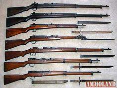 Japanese Arisaka Rifles