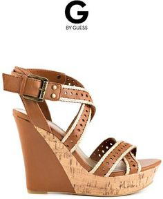 G by Guesss Brown Bethia Brown Multi LL Design works No.405 |2013 Fashion High Heels|