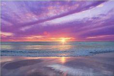 Prachtige zonsondergang !!