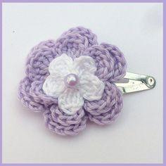 Crochet hair clip | Crochet | Popular Crafts | Craft Juice