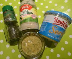 Rezept Meerrettich--Senf-Sauce mit Honig und Dillspitzen von bastelschnecke - Rezept der Kategorie Saucen/Dips/Brotaufstriche