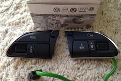 Audi Q5 Q7 Multifunction Steering wheel buttons 4L0951523C XHA