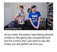 And then there's Phil, afraid someone's gonna make another crotch shot edit