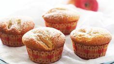 Oppskrift på Muffins med eple og kanel