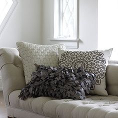 These trendy pillows make a great gift idea for anyone who loves to decorate!
