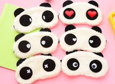 #Panda Sleeping #Eye #Mask #eyemask