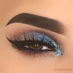 Sparkle with our Glitter Collection via @beautiception