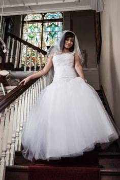 Studio Lighting, One Shoulder Wedding Dress, Wedding Dresses, Model, Fashion, Bride Dresses, Moda, Bridal Gowns