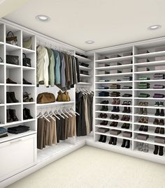 Ken's dream closet: TCS Closets by The Container Store