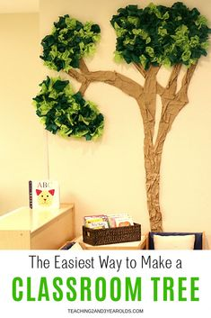 Learn how to make a simple classroom tree using cardboard and tissue paper with this easy tutorial! Learn how to make a simple classroom tree using cardboard and tissue paper with this easy tutorial! Jungle Theme Classroom, Preschool Classroom Decor, Preschool Rooms, Infant Classroom, New Classroom, Classroom Setting, Classroom Ideas, Classroom Family Tree, Toddler Classroom Decorations