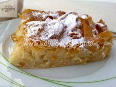 ΜΠΟΥΓΑΤΣΑ ΣΕ 30 ΛΕΠΤΑ ΜΕ 6 ΥΛΙΚΑ Greek Desserts, Greek Recipes, Cooking Cake, Cooking Recipes, Greek Cake, Baklava Recipe, Sweet Pie, Pastry Cake, How To Make Cake