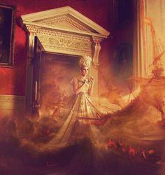"Saatchi Art Artist Miss Aniela; Photography, ""Storm Door, 2/3, large edition"" #art"