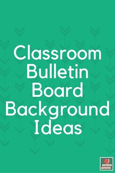 Need some new classroom bulletin board background ideas?  Check out this fun roundup of (maybe) new-to-you suggestions from others in one spot at the blog!