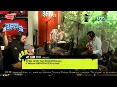 Bowe live met monoPunk bij 3FM Freaknacht met Sander Hoogendoorn