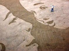 Eco Trends | Eco Art Trend | Sand Drawings | Trendspotting