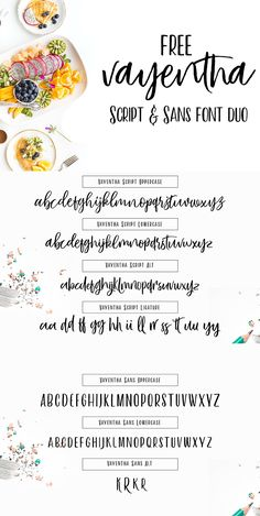 Free font are always exciting! Especially duo fonts! If you don't already own the gorgeous Free Vayentha Script and San Font Duo – today is a fantastic day to add it to you growing font library! It was created by Ryan from LOSTVOLTYPE – a talented designer from Indonesia. You can find more of his...Read More »