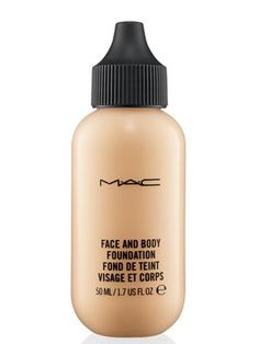 8 waterproof and sweat-proof makeup picks for summer - M.A.C Cosmetics Face and Body Foundation in N1 http://the-best-hairstyles.com