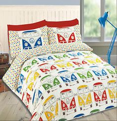 Campervan-Duvet-Cover-Set-With-Pillowcases-Caravan-Bedding-Set-All-Sizes