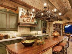 Excellent italian style kitchen as mediterranean style kitchen cofoxo