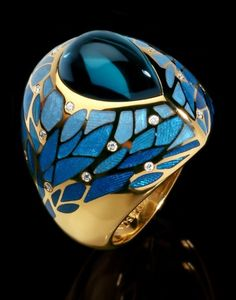 'Four Seasons' Collection Ring by Mousson Atelier