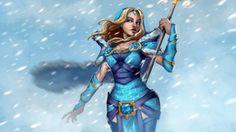 Rylai Crystal Maiden 0n