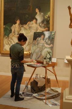 Founded in two years after The Met first opened, the Copyist program has provided countless artists the opportunity to copy the great works of the museum. Devin Art, Local Museums, Famous Words, World Traveler, Metropolitan Museum, Artist At Work, Female Art, In This World, Art Museum