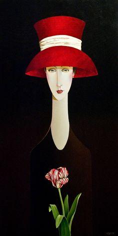Danny McBride, artist, original acrylic paintings at White Rock Gallery Danny Mcbride, Art Moderne, Whimsical Art, Woman Painting, Portrait Art, Portraits, Beautiful Paintings, Face Art, Art World