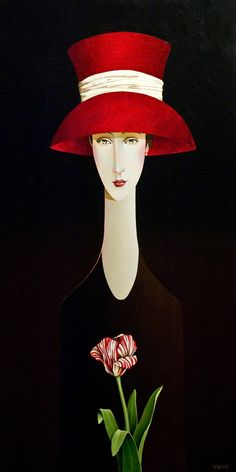 Madelyn and the Tulip, by Danny McBride Repinned by Merry Tree Lane