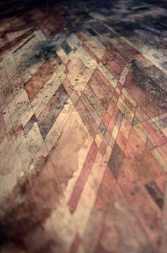 New geometric wood pattern hardwood floors ideas Graphisches Design, Floor Design, Floor Patterns, Textures Patterns, Wooden Flooring, Hardwood Floors, Unique Flooring, Flooring Ideas, Flooring Options