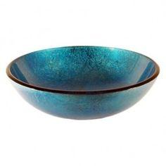 Blue Glass Vessel Sink - Foter More