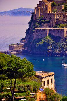 Ischia, Italy (Next to Capri, but cheaper)