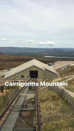 Die Cairngorm Mountains in Schottland: beliebt für Wanderungen