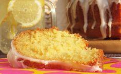 Saftiger Zitronenkuchen mit Frischkäse