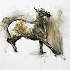 """Saatchi Art Artist Benedicte Gele; Drawing, """"Jeu 3 (Sold)"""" #art"""