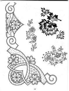 Embroidery and Cutwork Designs