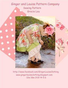 Girls Peasant Top Pattern Toddler Pattern Sewing by ThorsGarden, $10.75